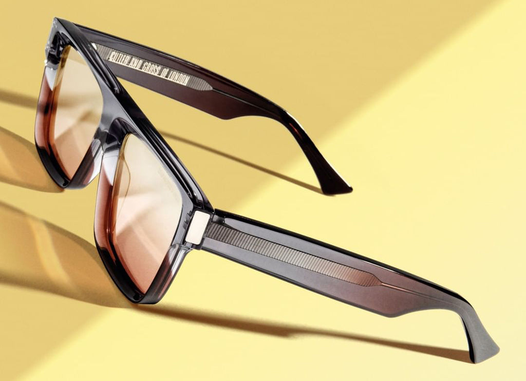 Cutler and Gross // 1341 Sunglasses in Grad Sherry