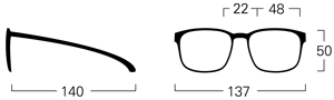 mykita crosby size guide