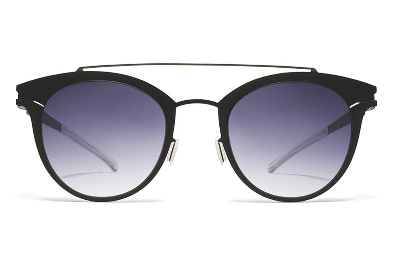 MYKITA Sunglasses | Margo in Shiny Black/Black