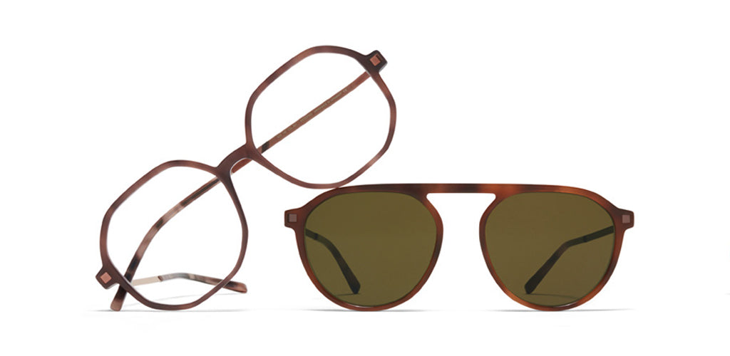 MYKITA // Hilla Eyeglasses and Helgi Sunglasses