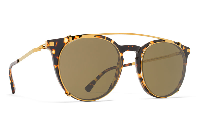 MYKITA Sunglasses | Keelut in Trinidad with Glossy Gold Clip On Shades
