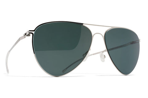 MYKITA | Tjuree in Shiny Silver with Neophan Polarized Lenses