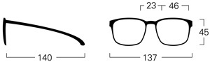 mykita pit size guide