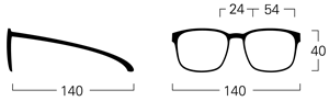 mykita rob size guide