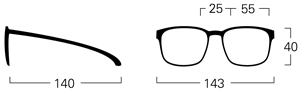 mykita vincent size guide