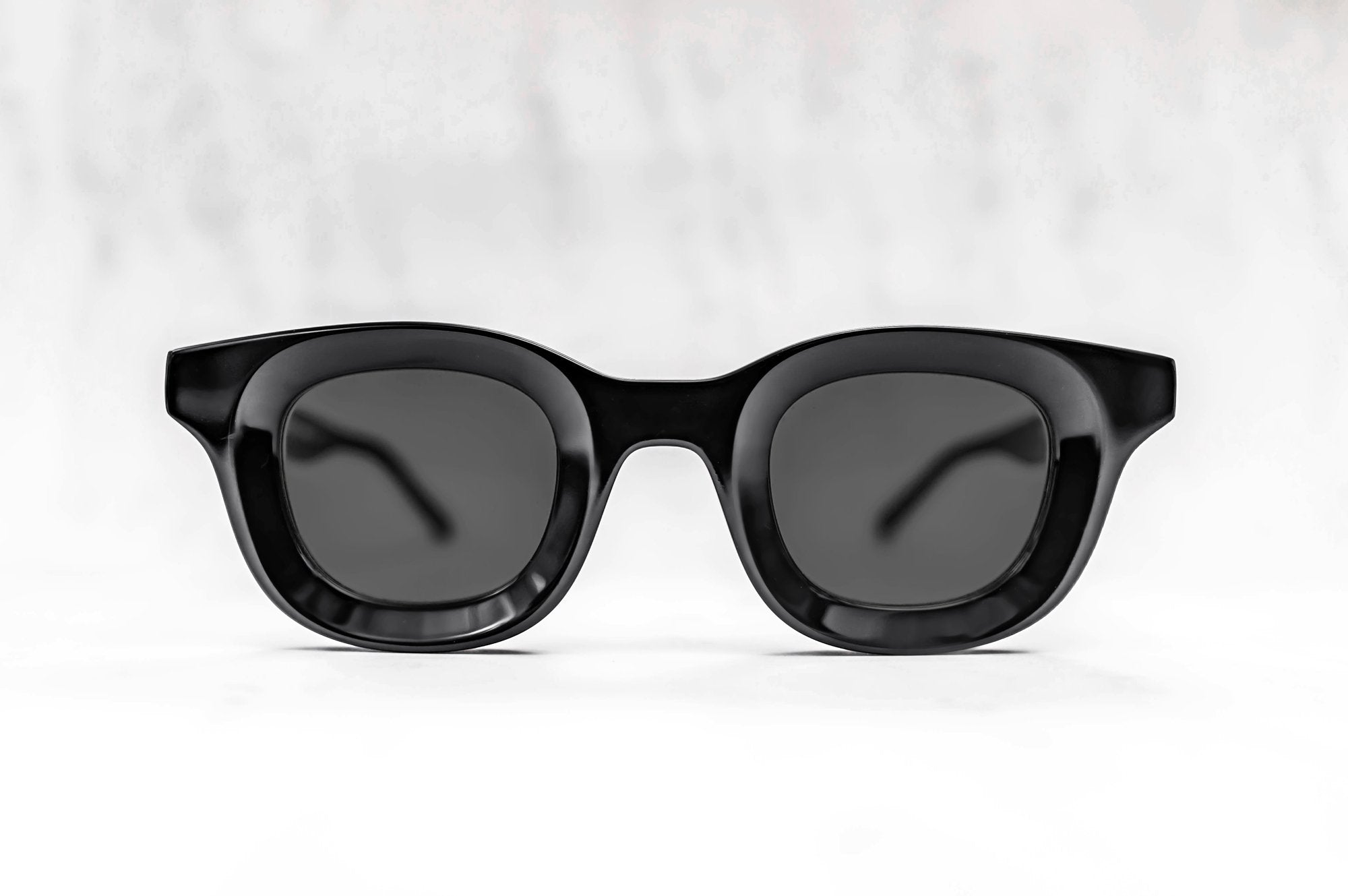 RHUDE x Thierry Lasry - Rhodeo Sunglasses in Black w/ Grey Lenses (101)
