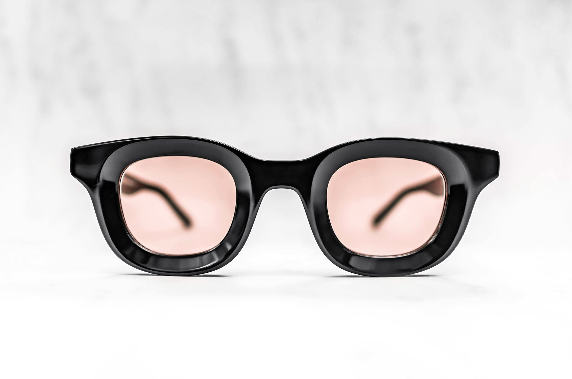 RHUDE x Thierry Lasry - Rhodeo Sunglasses in Black w/ Pink Lenses (101)