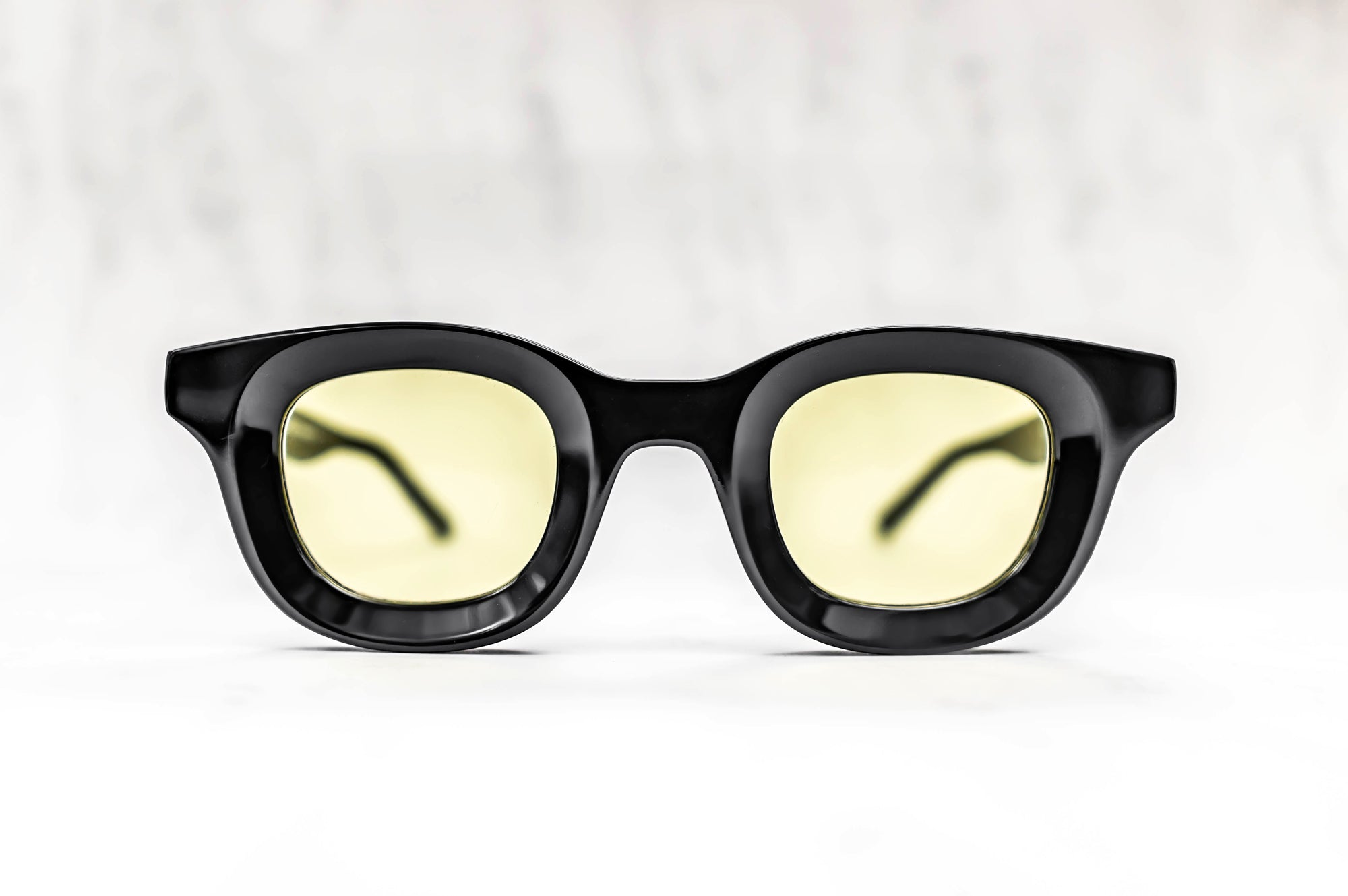 RHUDE x Thierry Lasry - Rhodeo Sunglasses in Black w/ Yellow Lenses (101)