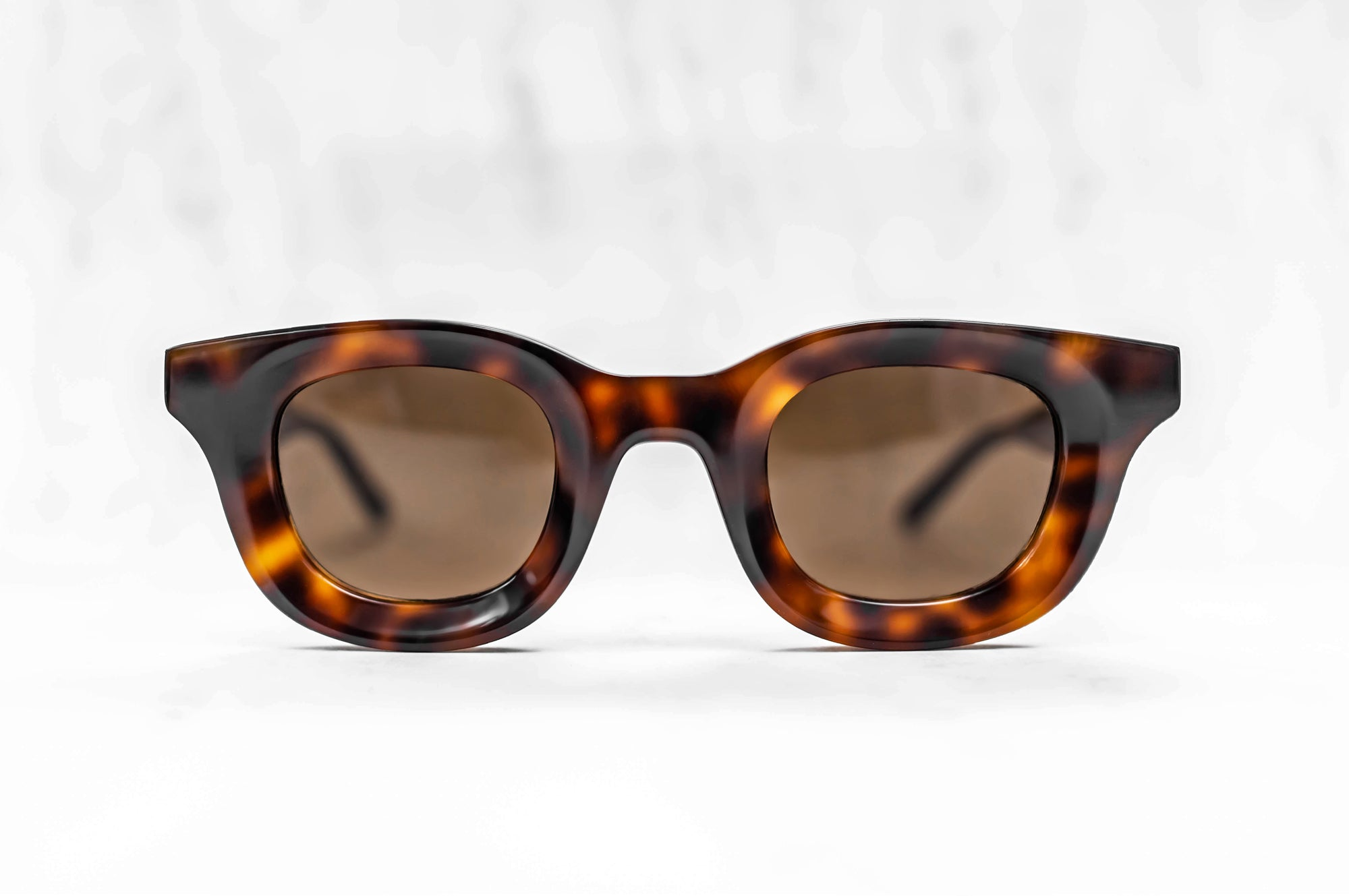 RHUDE x Thierry Lasry - Rhodeo Sunglasses in Tortoise Shell w/ Brown Lenses (610)