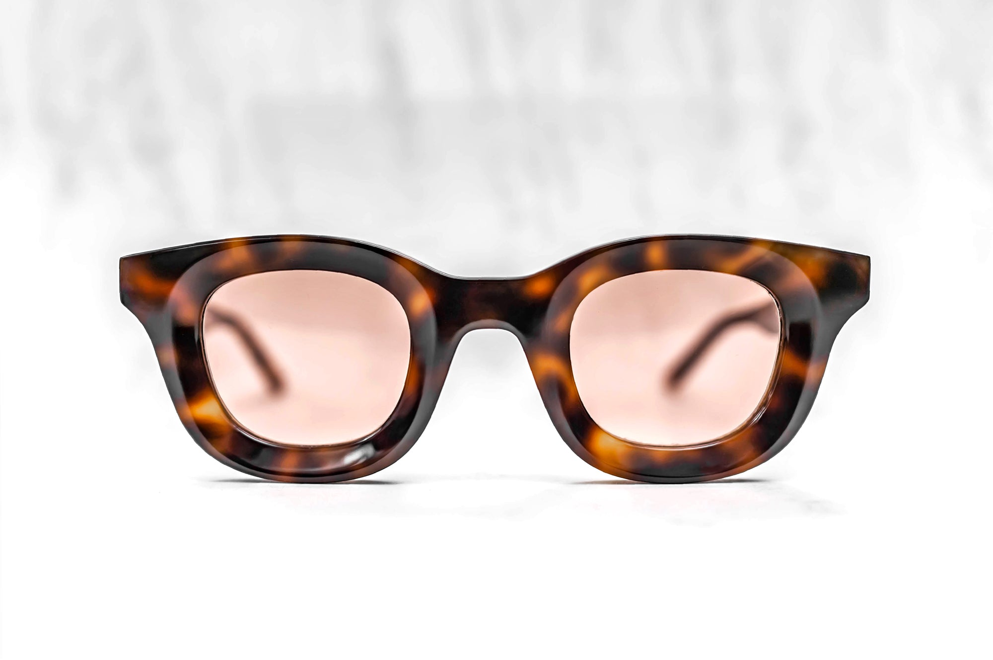 RHUDE x Thierry Lasry - Rhodeo Sunglasses in Tortoise Shell w/ Pink Lenses (610)