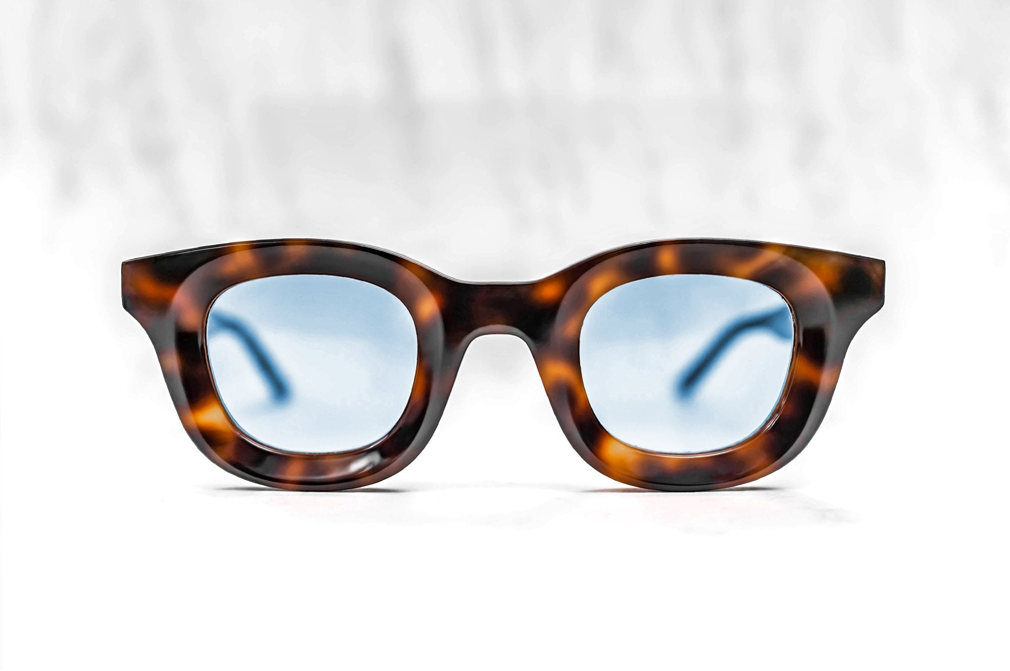 RHUDE x Thierry Lasry - Rhodeo Sunglasses in Tortoise Shell w/ Light Blue Lenses (610)