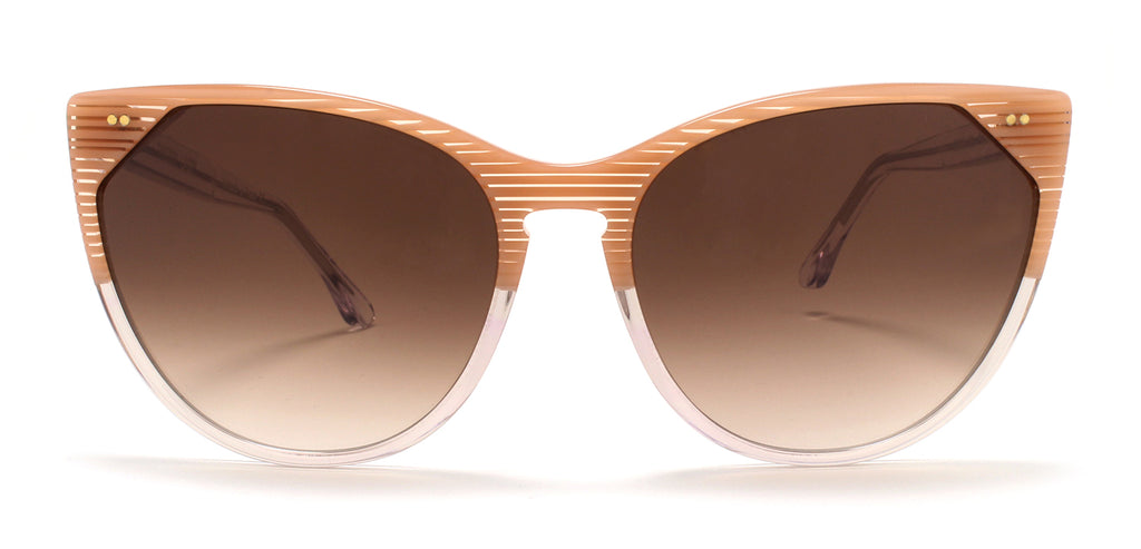 Thierry Lasry | Swappy in Pink Stripes & Clear (450)