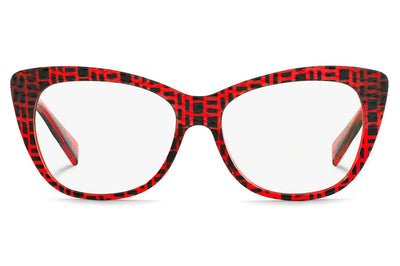 Alain Mikli - A01346M Eyeglasses Black Spots/Red