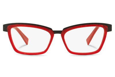 Alain Mikli - A02015 Eyeglasses Red/Black