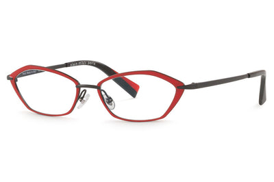 Alain Mikli - A02033 Eyeglasses Matte Black/Red