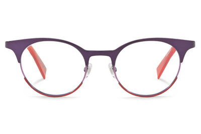 Alain Mikli - A02034 Eyeglasses Matte Purple/Lilac Red