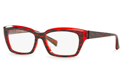 Alain Mikli - A03010 Eyeglasses Black L.A/Red
