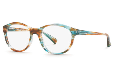 Alain Mikli - A03038 Eyeglasses Paint Brown Turquoise