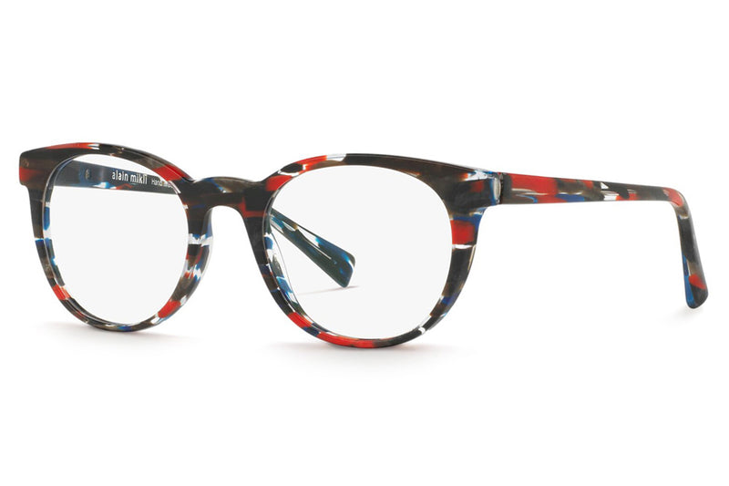 Alain Mikli - A03063 Eyeglasses Stripped Blue Red Black