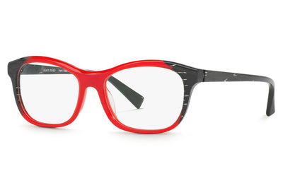 Alain Mikli - A03068 Eyeglasses Black/Pontille Red