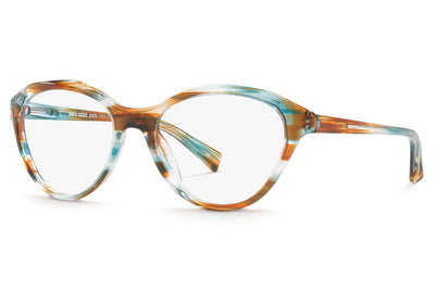 Alain Mikli - A03076 Eyeglasses Paint Turquoise Brown