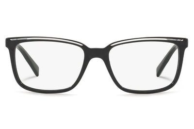 Alain Mikli - A03079 Eyeglasses Black/Crystal Black