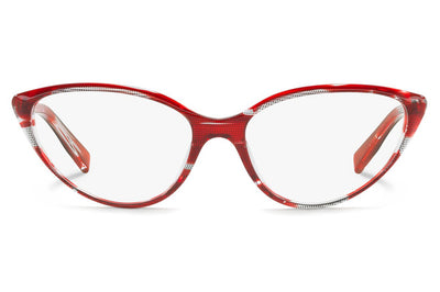 Alain Mikli - A03081 Eyeglasses Top Black Red
