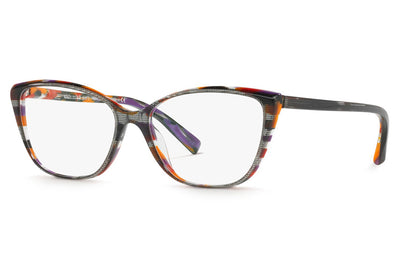 Alain Mikli - A03082 Eyeglasses Top Black Multicolor