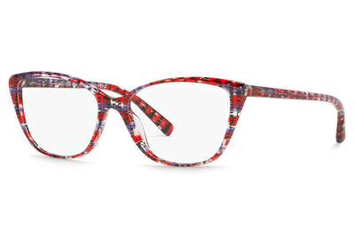 Alain Mikli - A03082 Eyeglasses Red Purple Fishnet