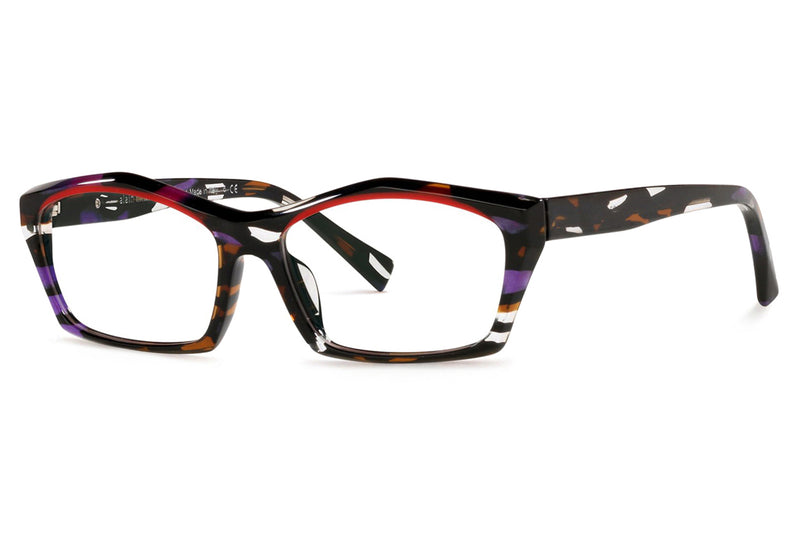 Alain Mikli - Erwan (A03127) Eyeglasses Purple Brown/Red