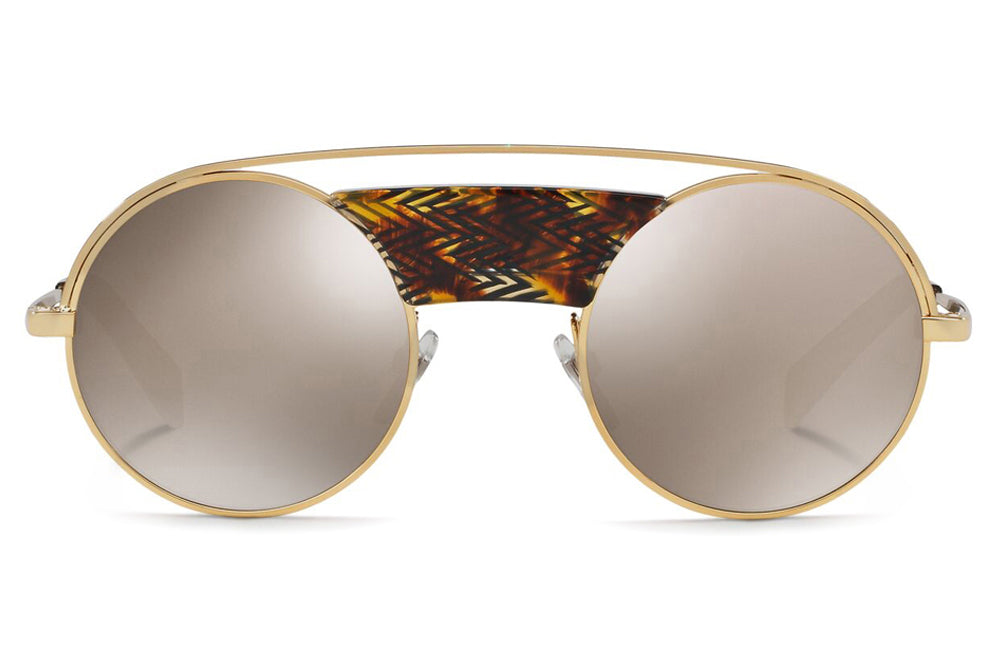 Alain Mikli - A04002 Sunglasses Chevron Brown