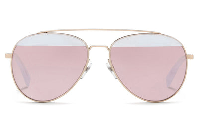 Alain Mikli - A04004 Sunglasses Pontille White/Light Gold