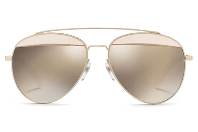 Alain Mikli - A04004 Sunglasses Buff/Brushed Gold
