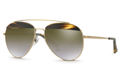 Alain Mikli - A04004 Sunglasses Cocobolo/Antique Gold