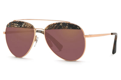Alain Mikli - A04004 Sunglasses Palmier Chocolate/Rose Gold