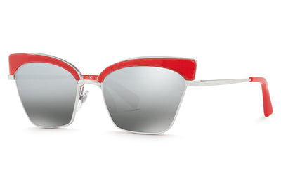 Alain Mikli - A04005 Sunglasses Pontille Red/Silver
