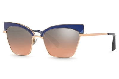 Alain Mikli - A04005 Sunglasses Denim/Rose Gold