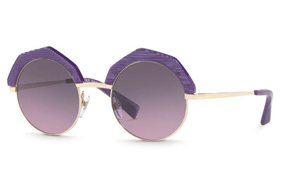 Alain Mikli - A04005 Sunglasses Pontille Violet/Light Shiny Gold