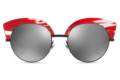 Alain Mikli - A04007 Sunglasses Paint Red/Matte Black