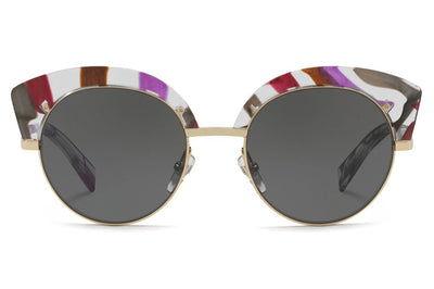 Alain Mikli - A04007 Sunglasses Purple Waves/Gold