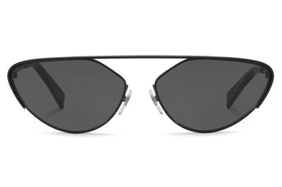 Alain Mikli - A04012 Sunglasses Matte Black with Grey Lenses