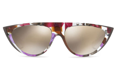 Alain Mikli - A05031 Sunglasses Grey Waves Violet Brown