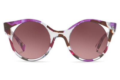 Alain Mikli - Rayce (A05033) Sunglasses Grey Waves Violet Brown