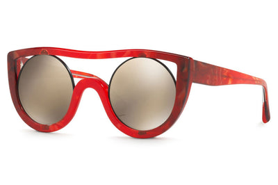 Alain Mikli - Ayer (A05034) Sunglasses Red/Black