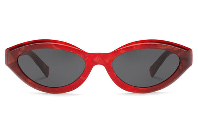 Alain Mikli - Desir (A05038) Sunglasses Smoke Red