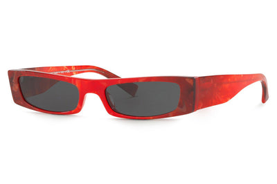 Alain Mikli - Edwidge (A05039) Sunglasses Red Smoke