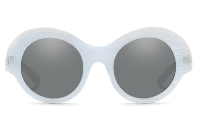 Alain Mikli - Roselyne (A05040B) Sunglasses White Pontille/Crystals