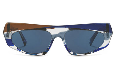 Alain Mikli - Pose (A05041) Sunglasses Blue Waves/Cob Blue/Espresso