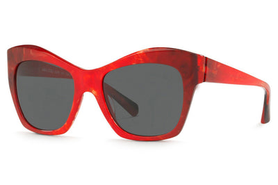 Alain Mikli - Nuages (A05043) Sunglasses Smoke Red