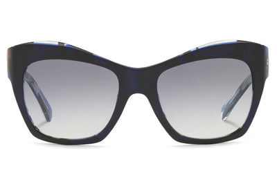 Alain Mikli - Nuages (A05043) Sunglasses Denim/Blue Waves Black